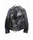 DSQUARED2(ディースクエアード)の古着「ライダースジャケット」|ブラック