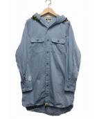 A BATHING APE(ア ベイシング エイプ)の古着「シャークフードシャツワンピース」