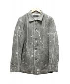 ISSEI MIYAKE(イッセイミヤケ)の古着「刺繍カバーオール」