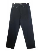 AURALEE(オーラリー)の古着「HARD TWIST DENIM WIDE PANTS」