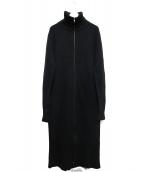 ANN DEMEULEMEESTER(アンドゥムルメステール)の古着「ロングカーディガン」|ブラック