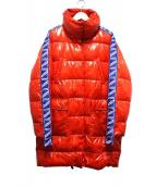PINKO(ピンコ)の古着「ビニールダウンコート」|レッド