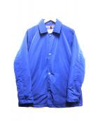 KATO AAA(カトー・トリプルエー)の古着「コーチダウンジャケット」|ブルー