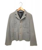 COMME des GARCONS COMME des GARCONS(コムデギャルソンコムデギャルソン)の古着「ショートジャケット」|グレー