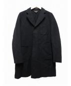 COMME des GARCONS(コムデギャルソン)の古着「チェスターコート」|ブラック