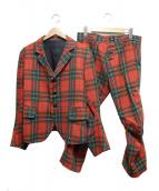 Nemeth(ネメス)の古着「チェックセットアップジャケットスーツ」