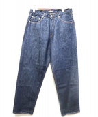 AURALEE(オーラリー)の古着「HARD TWIST DENIM WIDE PANTS」