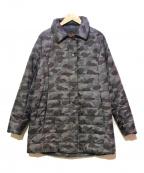 EVEX by KRIZIA(エヴェックスバイクリツィア)の古着「中綿コート」|グレー