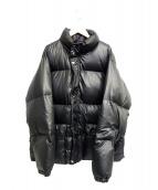 LHP(エルヘイチピ)の古着「中綿ダウンジャケット」|ブラック