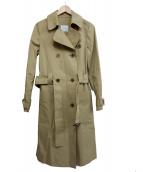UMA ESTNATION(ユマエストネーション)の古着「トレンチコート」|ベージュ