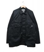 FACETASM(ファセッタズム)の古着「リブM65ジャケット」|ブラック