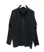 HOMME PLISSE ISSEY MIYAKE(オム プリッセ イッセイ ミヤケ)の古着「プリーツジップアップジャケット」