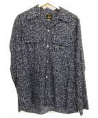 Needles(ニードルズ)の古着「カットオフオープンカラーシャツ」
