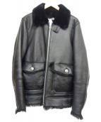 CRIMIE(クライミ)の古着「オールムートンG-1ジャケット」|ブラック