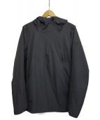 DESCENTE ALLTERRAIN(デサント オルテライン)の古着「パラへムボアシェルジャケット」|グレー