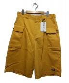 Dickies × N.HOOLYWOOD(ディッキーズ)の古着「カーゴショーツ」|イエロー