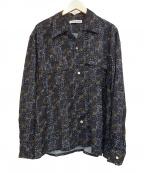 seven by seven(セブンバイセブン)の古着「総柄バティックシャツ」