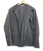 AURALEE(オーラリー)の古着「ヘンプコーデュロイシャツジャケット」