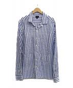 Noah(ノア)の古着「シアサッカーオープンカラーシャツ」