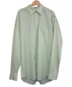 AURALEE(オーラリー)の古着「フィンクスシルクストライプシャツ」