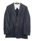 Brooks Brothers(ブルックスブラザーズ)の古着「リネン100%テーラードジャケット」 ネイビー