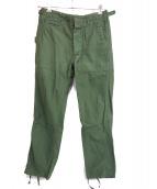 Engineered Garments × BEAMS PLUS(エンジニアードガーメンツ × ビームスプラス)の古着「ファティーグパンツ」