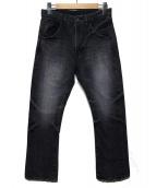 bukht(ブフト)の古着「デニムパンツ」|グレー