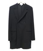 Y-3(ワイスリー)の古着「ダブルチェスターコート」|ブラック