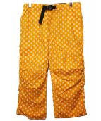 KATO×WILD THINGS(カトー×ワイルドシングス)の古着「クライミングパンツ」|イエロー