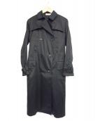 MAISON DE REEFUR(メゾンドリーファー)の古着「トレンチコート」|ブラック