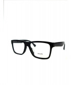 PRADA(プラダ)の古着「伊達眼鏡」|ブラック