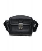 3.1 phillip lim(3.1 フィリップリム)の古着「レザーウエストバッグ」|ブラック
