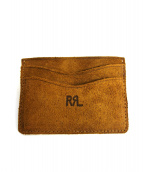 RRL(ダブルアールエル)の古着「ランチレザーカードケース」|ブラウン