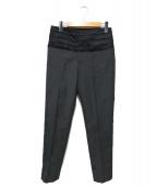 UNDERCOVER(アンダーカバー)の古着「ウエスト切替パンツ」 グレー