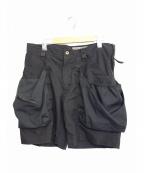 TROVE(トローブ)の古着「ビッグポケットショーツ バージョン4」|ブラック