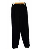 ENFOLD(エンフォルド)の古着「トラウザーパンツ」|ブラック