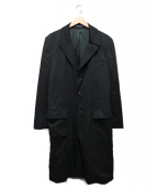 REGULATION Yohji Yamamoto MEN(レギュレーション ヨウジヤマモト メン)の古着「チェスターコート」|ブラック