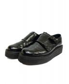 foot the coacher(フットザコーチャー)の古着「footthecoacher DOUBLE MONK HAR」|ブラック