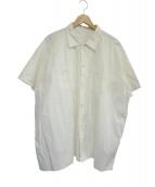 tuki(ツキ)の古着「ビッグシルエットシャツ」|ホワイト
