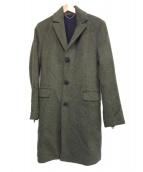 DIESEL(ディーゼル)の古着「チェスターコート」|オリーブ