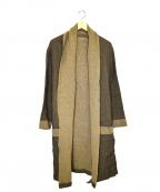 THE Sakaki(ザ サカキ)の古着「ガウンカーディガンコート」|ベージュ