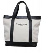 BALENCIAGA(バレンシアガ)の古着「キャンバストートバッグ」 アイボリー
