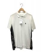 SOPHNET.(ソフネット)の古着「バンダナサイドパネルポロシャツ」 ホワイト