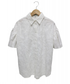 KENZO(ケンゾー)の古着「フライングフェニックスシャツ」|ホワイト