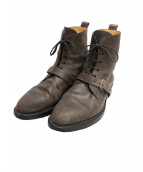 HERMES(エルメス)の古着「ベルト付ブーツ」 ブラウン