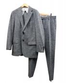 Paul Stuart(ポール・スチュアート)の古着「ヘリンボーンセットアップ」|グレー