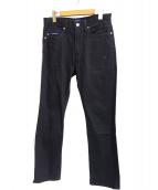 DESCENDANT(ディセンダント)の古着「DIN-4ジーンズ」|ブラック