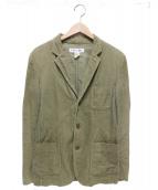 COMME des GARCONS SHIRT(コムデギャルソンシャツ)の古着「コーデュロイジャケット」|オリーブ