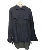 THEE(シー)の古着「シャツ」|ネイビー