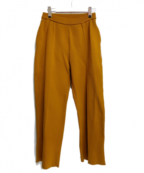 AKIRA NAKA(アキラ ナカ)AKIRA NAKA (アキラ ナカ) ワイドパンツ マスタード サイズ:S AR1844OCの古着・服飾アイテム